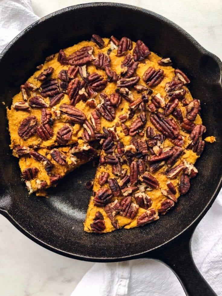 Sweet Potato Pie Skillet