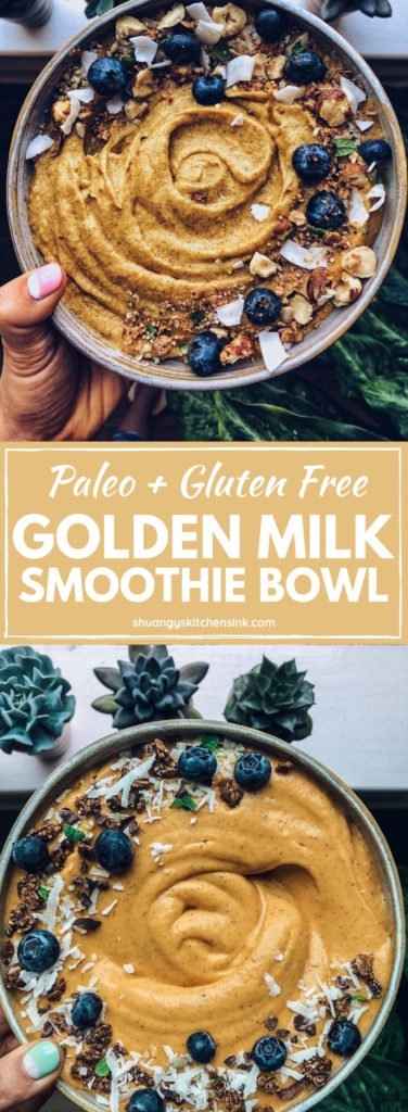 golden milk smoothie recipe