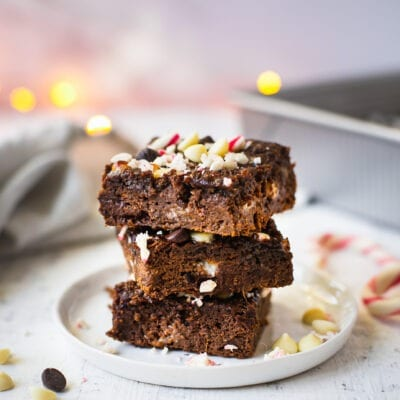 Sweet Potato PEPPERMINT Brownies