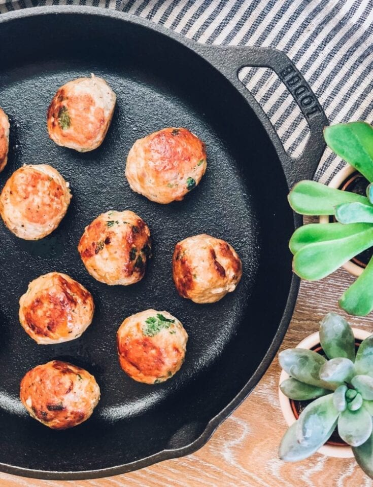 Paleo Turkey Meatballs