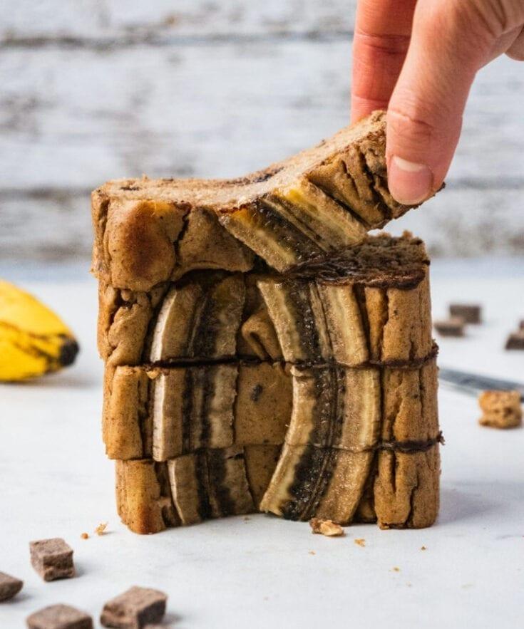 Healthy Banana Bread (Paleo, Gluten Free)