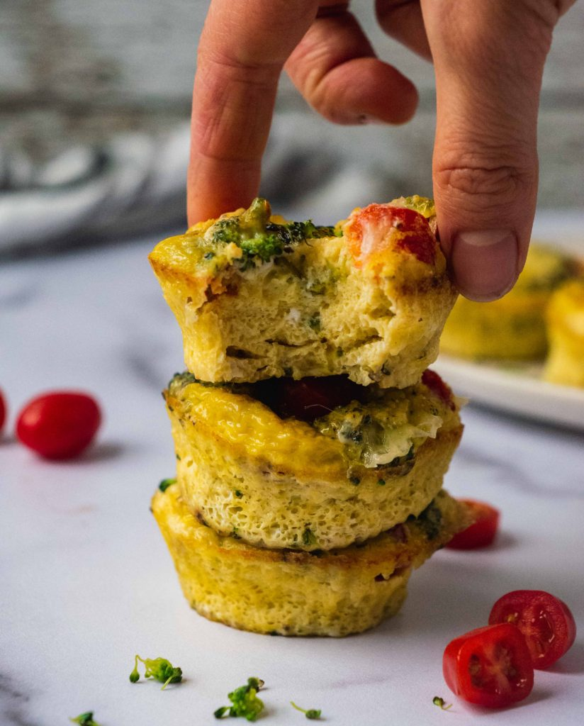 Healthy Breakfast Egg Muffins Shuangy S Kitchensink