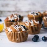 Healthy Blueberry Lemon Muffin