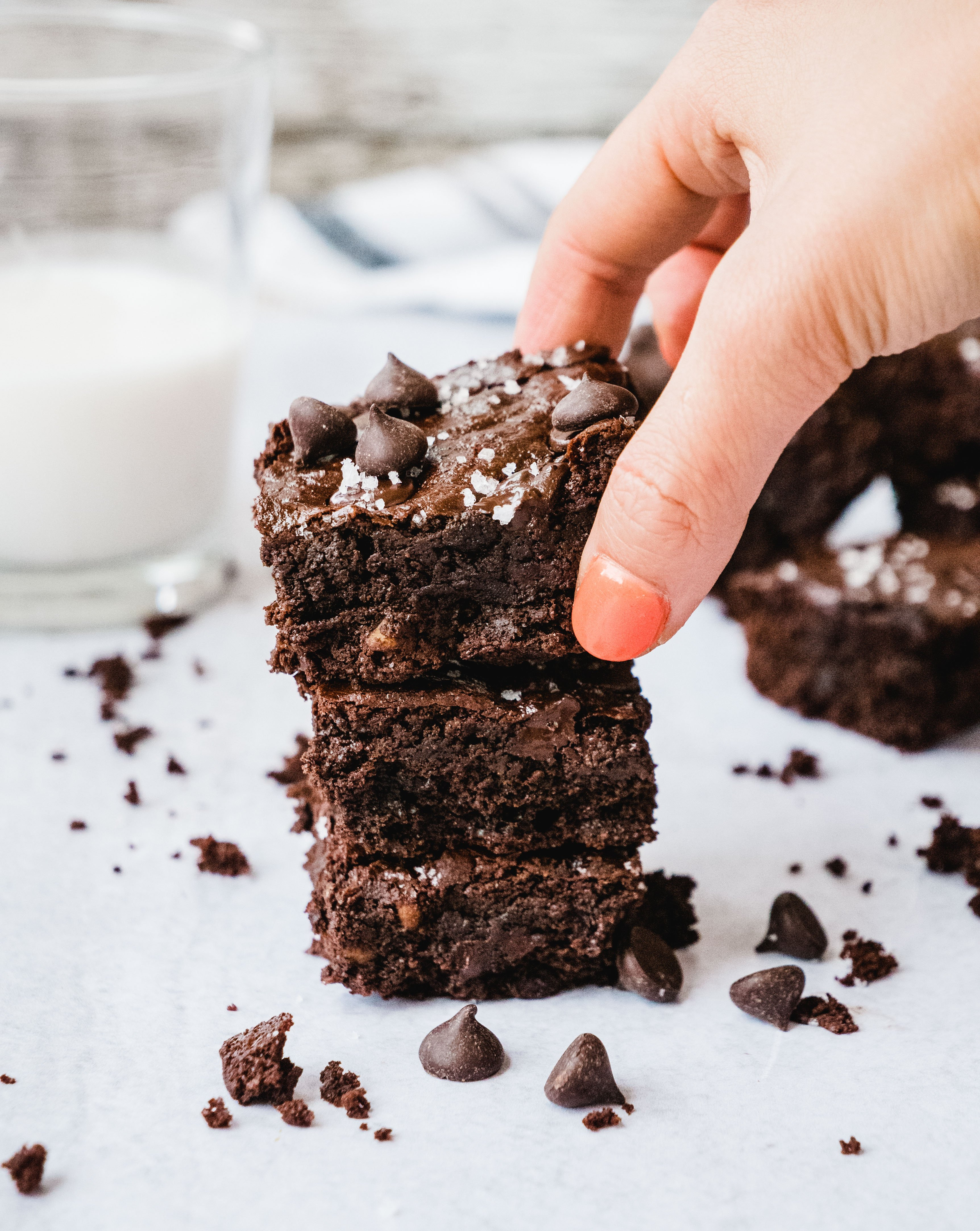 Gooey Fudgy Paleo Brownies Shuangy S Kitchensink