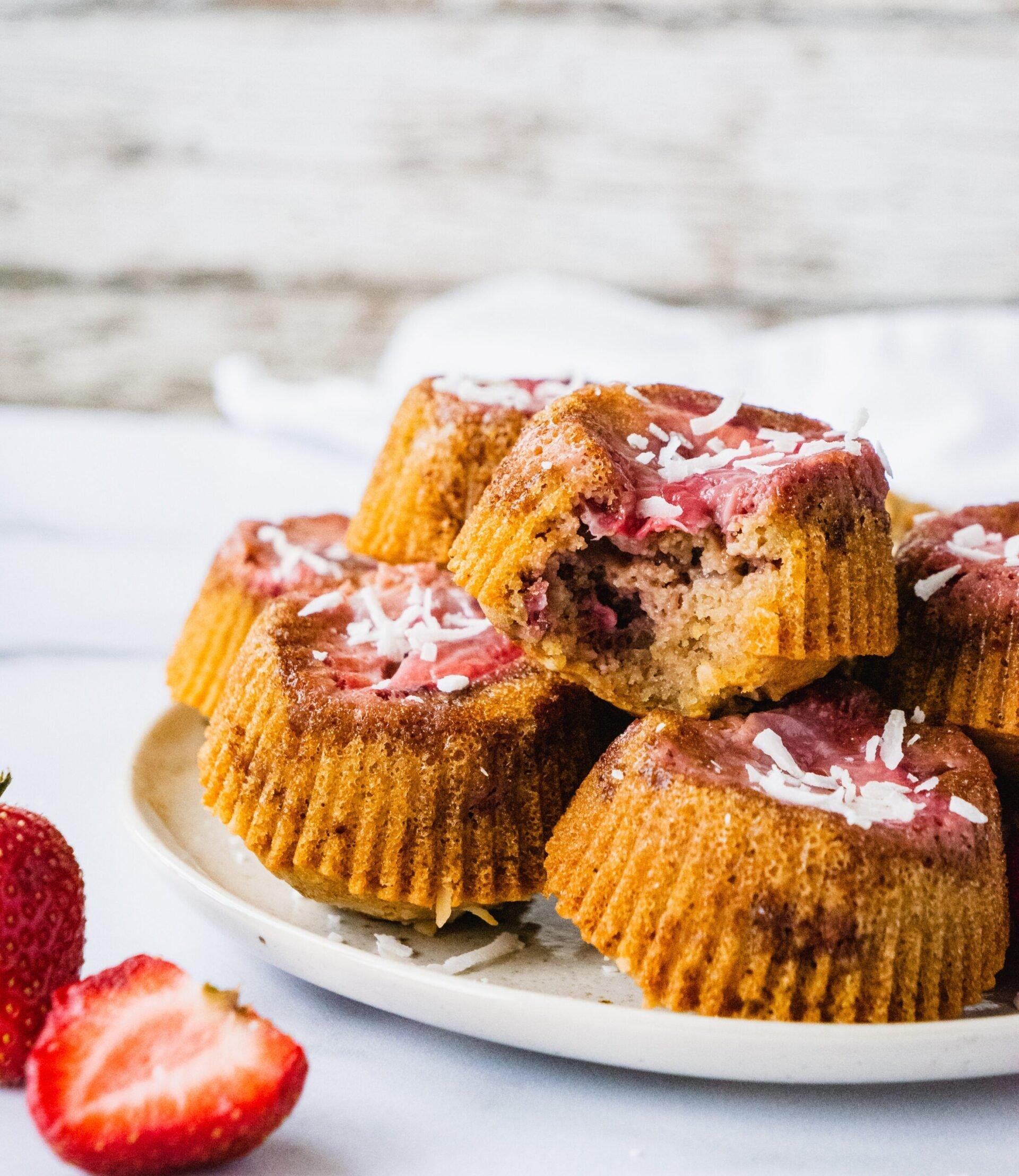 Mini Strawberry Upside Down Cake