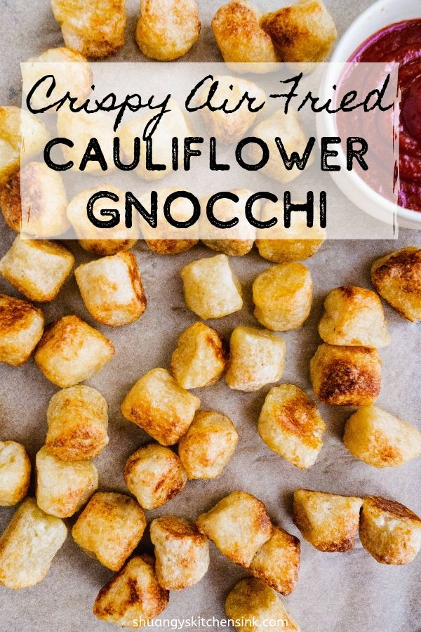 How to Make Cauliflower Gnocchi in air fryer | The most easy and crispy trader joe's cauliflower gnocchi made in air fryer in just under 15 minutes exact. This gnocchi recipe makes the perfect quick weekday dinner pair with eggs, pesto, vegan cheese sauce, and more. |#cauliflowergnocchi #easyrecipes #airfryer #gnocchi #airfryerrecipe #veganrecipe #healthyfood
