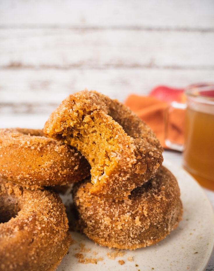 The Best Apple Cider Donuts (Paleo, Gluten Free)