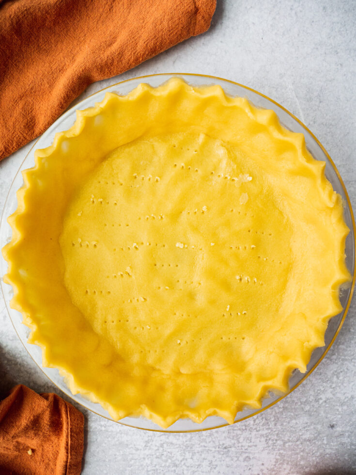 Gluten Free Almond Flour Pie Crust (Paleo, Low Carb)
