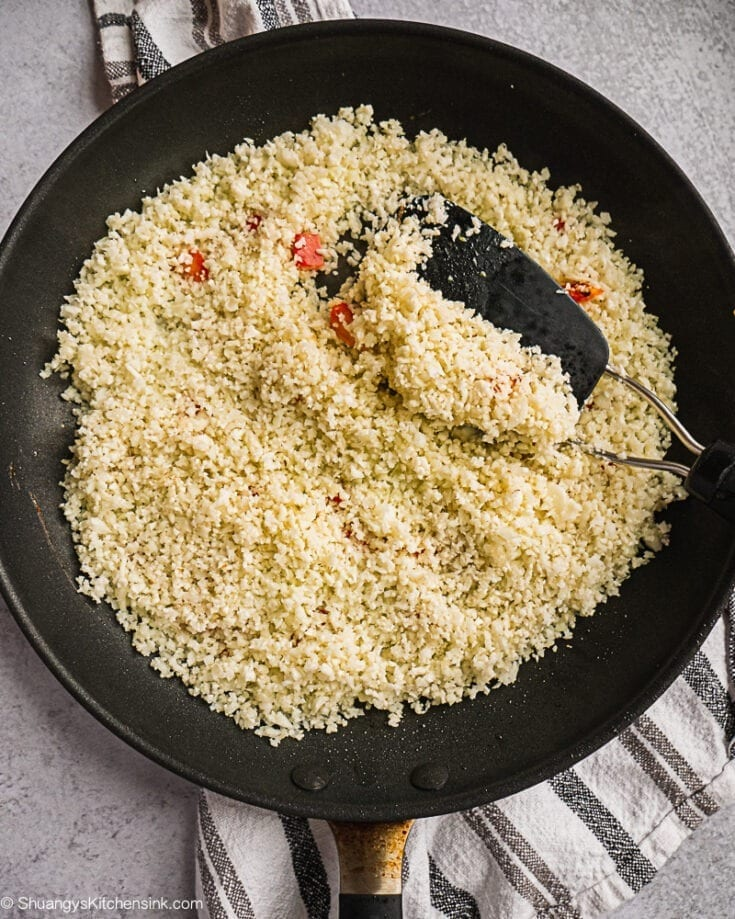How to Make Cauliflower Rice (Whole30)