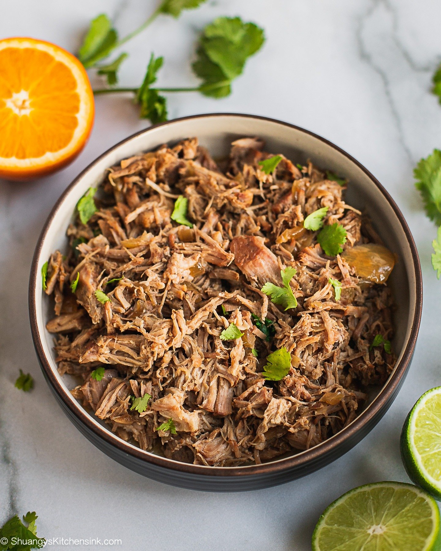 Easy Crockpot Carnitas {Whole30}