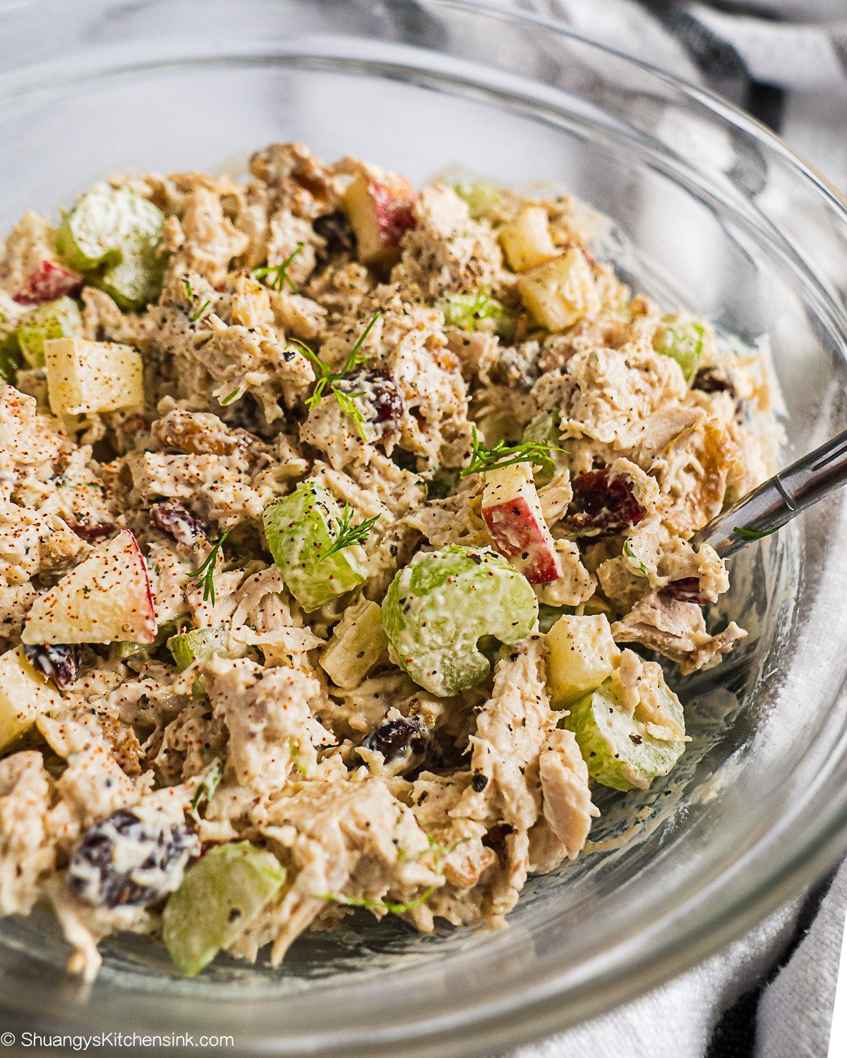 Healthy Chicken Salad {Whole30}