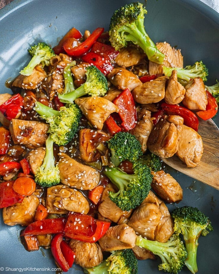 Teriyaki Chicken Stir Fry (Whole30)