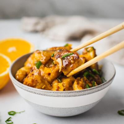 Healthy Paleo Orange Chicken