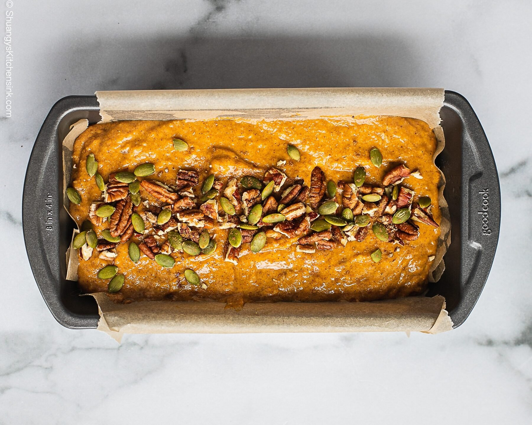 Instructions on how to make sweet potato bread step by step.
