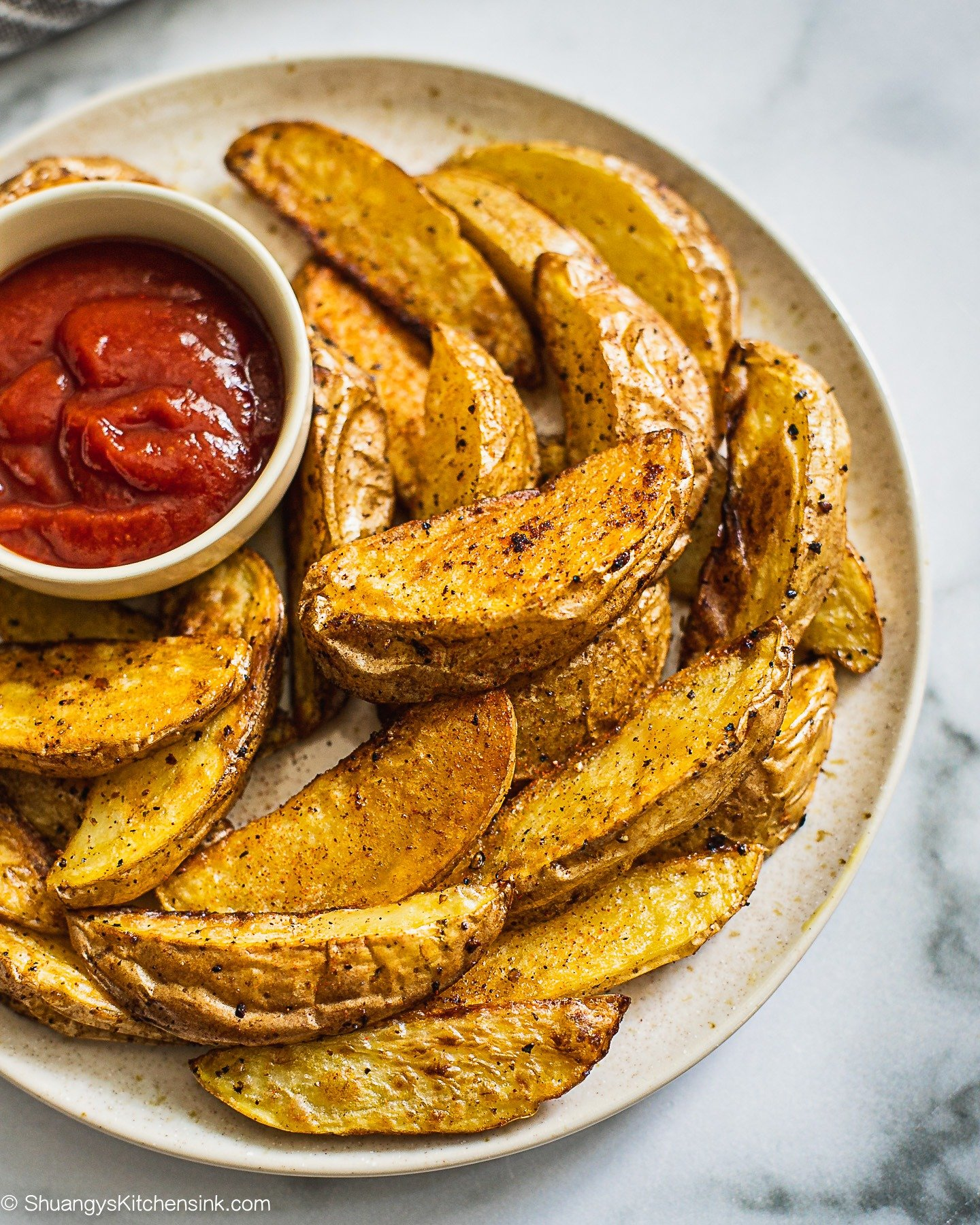 Air Fryer Potato Fries {Whole30}