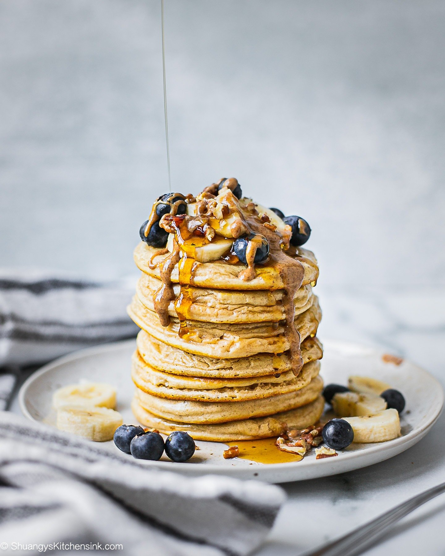 Healthy Buttermilk Pancakes