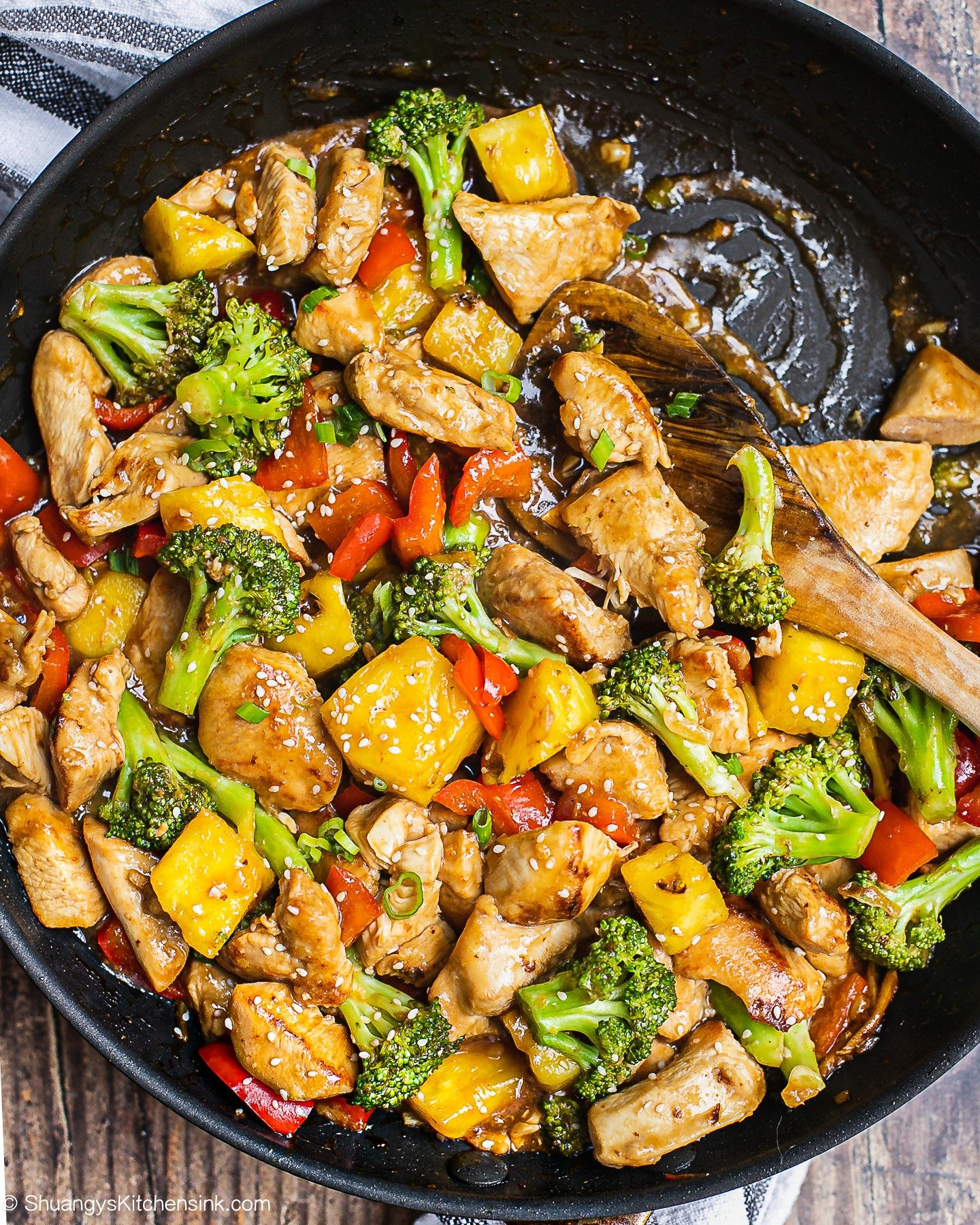 One-Pan Pineapple Chicken Teriyaki (Whole30)