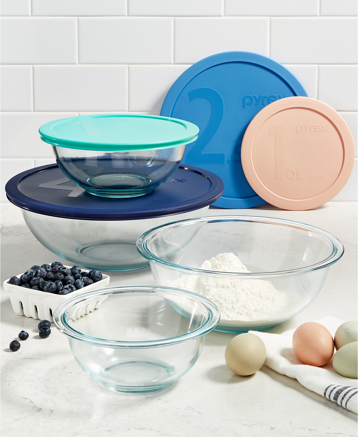 8-Pc. Mixing Bowl Set