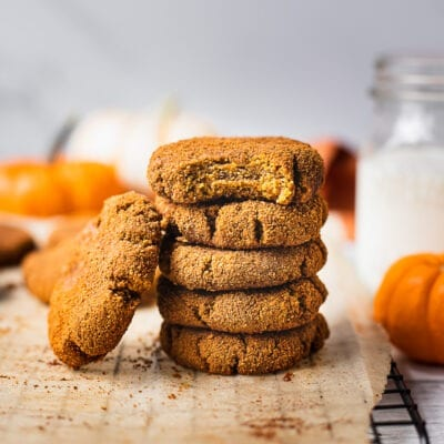 Pumpkin Snickerdoodle Cookies