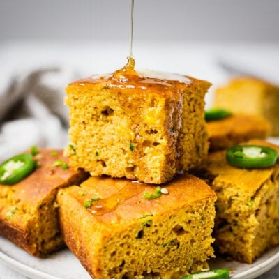 Honey jalapeño healthy Cornbread
