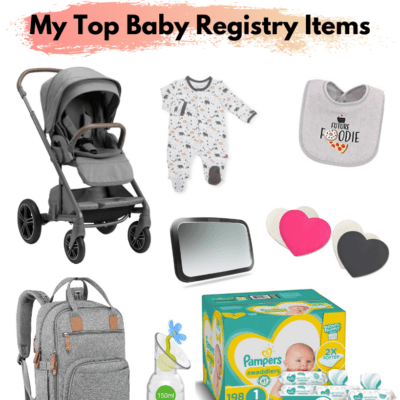 My 2021 Baby Registery Must-haves