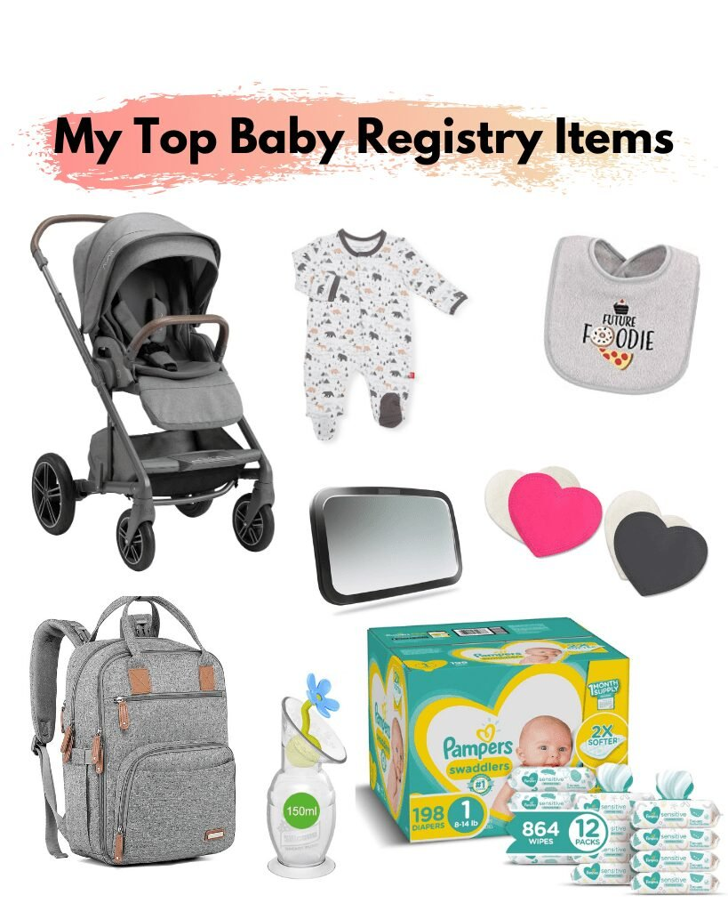 Health and Wellness Food Blogger Baby Registry Must Have items.
