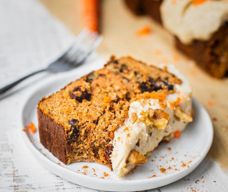 Paleo Carrot Cake Banana bread