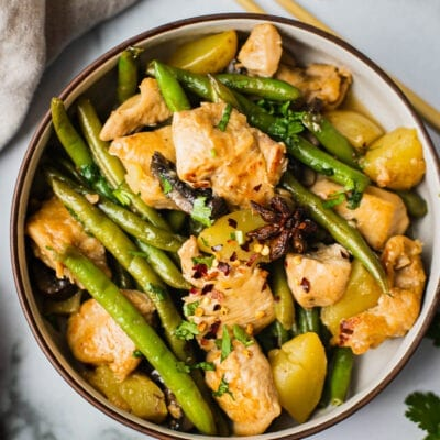 Chinese Chicken and Green beans