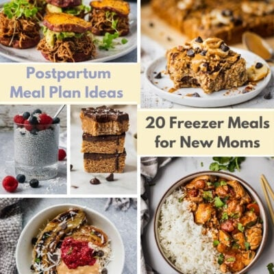 20 Freezer Meals For New Moms