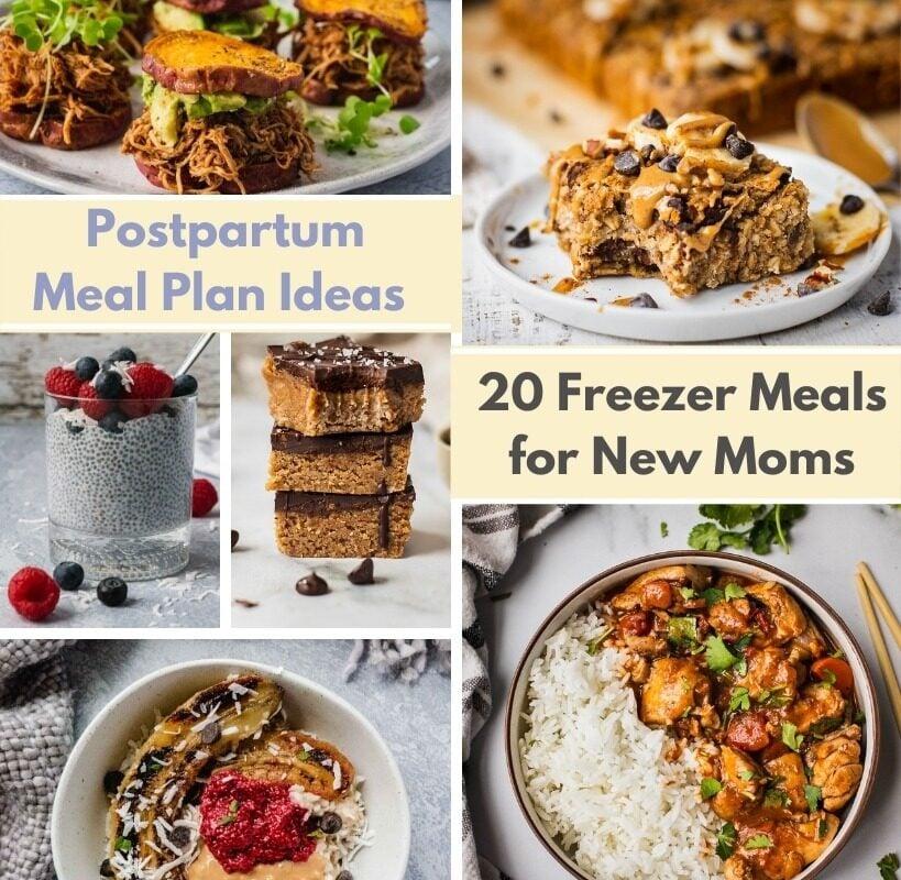 20 Freezer Meals For New Moms