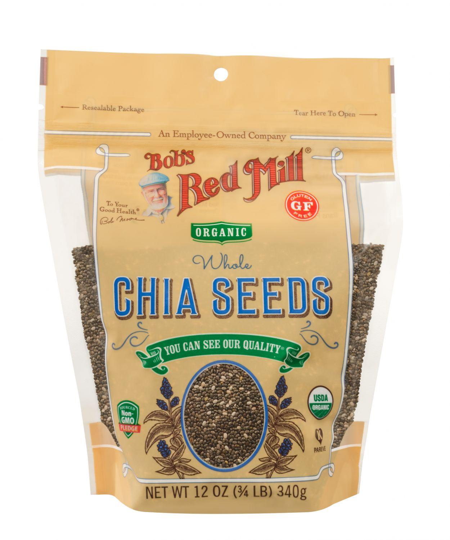 Bob's Red Mill, Organic Whole Chia Seeds, 12 oz (340 g)