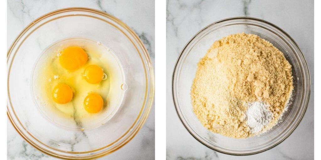 Instruction on how to make healthy lemon blueberry loaf.