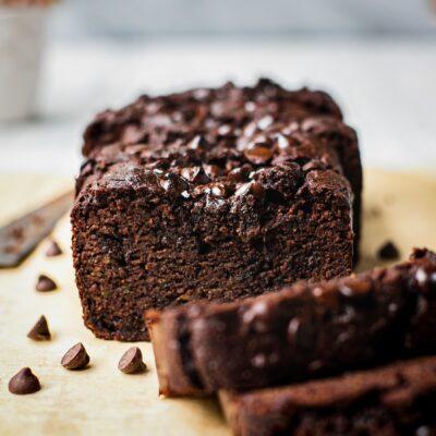 Healthy Zucchini Chocolate bread