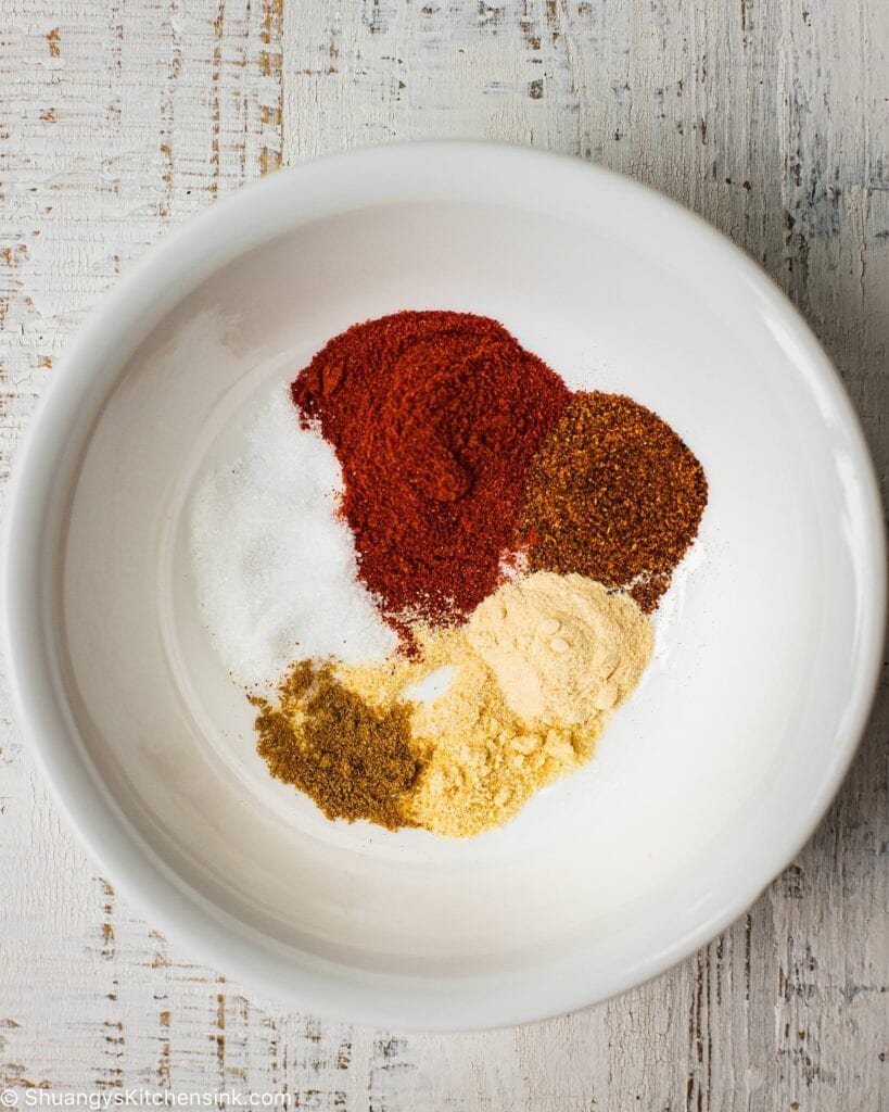Homemade BBQ spice for Instant Pot BBQ Chicken easy.