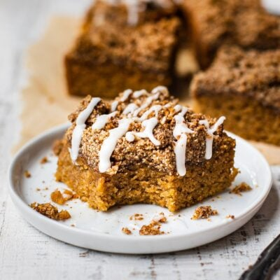 Pumpkin Coffee Cake {PALEO}